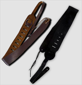 Clayton Leather Guitar Straps